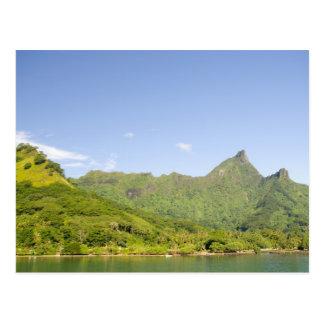 Carte Postale Arrivant en le ferry à Moorea, Polynésie française