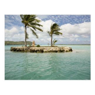 Carte Postale Arrivée à l'aéroport dans Bora Bora, société