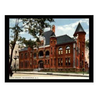 Carte Postale Arsenal d'état, Poughkeepsie, cru de New York