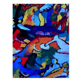 Carte Postale Art abstrait de Kandinsky