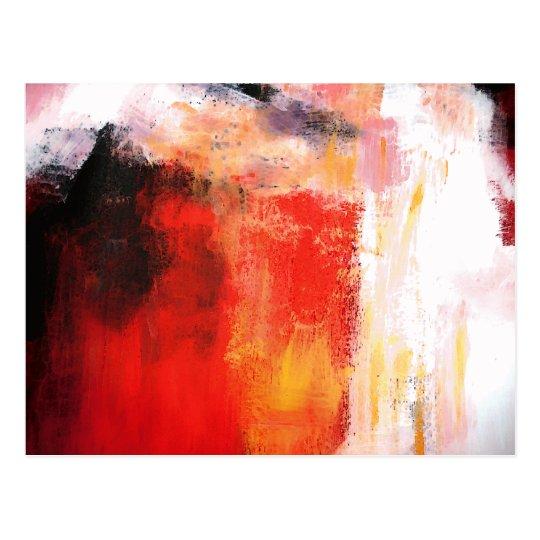Carte Postale Art Abstrait Moderne Art Minimaliste Zazzle Fr