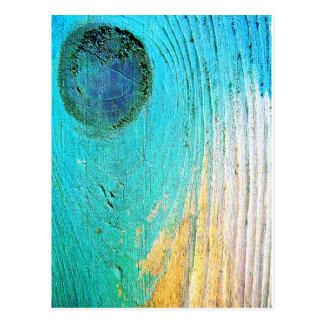 Carte Postale Art antique abstrait S de mode de style d'ordure