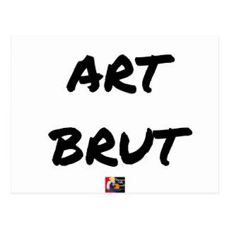 Carte Postale art_brut__jeux_de_mots_francois_ville