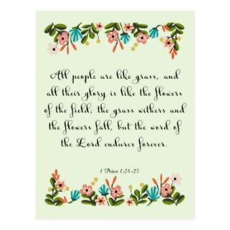 Carte Postale Art chrétien de citation - 24:6 de Jérémie
