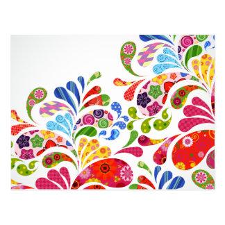 Carte Postale Art coloré