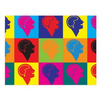 Carte Postale Art de bruit de psychiatrie