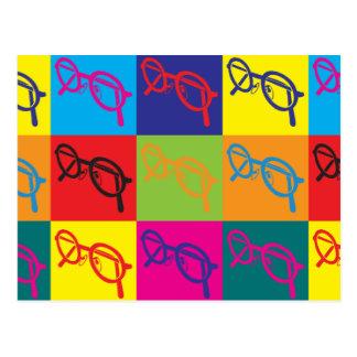 Carte Postale Art de bruit d'optique