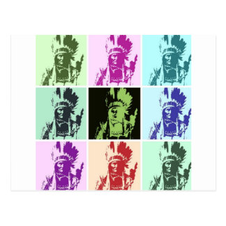 Carte Postale Art de bruit Geronimo