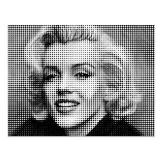 Carte Postale Art de bruit Marilyn