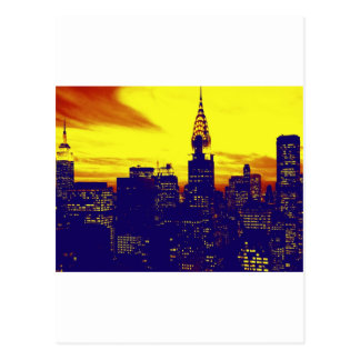 Carte Postale Art de bruit New York