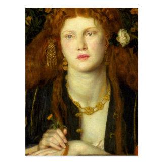 Carte Postale Art de Dante Gabriel Rossetti