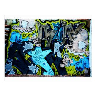 Carte Postale Art de graffiti
