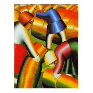 Carte Postale Art de Kazimir Malevich