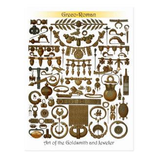 Carte Postale Art de l'orfèvre et du bijoutier (gréco-romains)