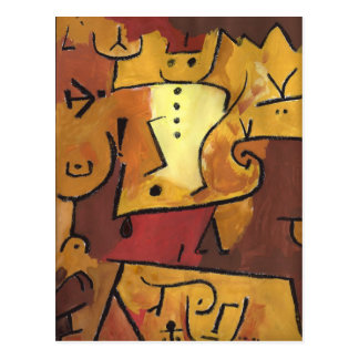 Carte Postale Art de Paul Klee