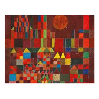 Carte Postale Art de Paul Klee