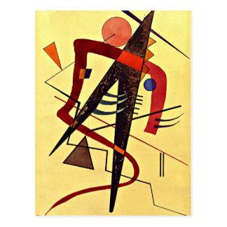 Carte Postale Art de Paul Klee : Chaud