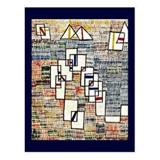 Carte Postale Art de Paul Klee : Cote De Provence
