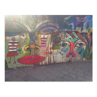 Carte Postale Art de rue