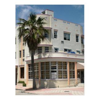 Carte Postale Art déco de Miami
