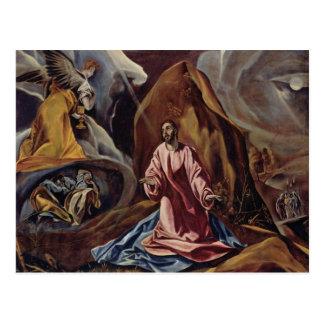 Carte Postale Art d'El Greco