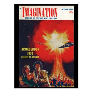 Carte Postale Art du _10-1952_Pulp d'imagination