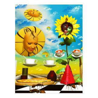 Carte Postale Art frais par les peintures surréalistes de Lenny