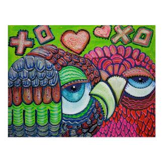 Carte Postale Art mignon de hibou