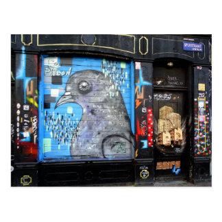 Carte Postale Art Nr de rue de graffiti d'Amsterdam. 3