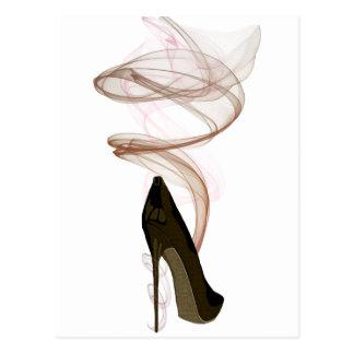 Carte Postale Art stylet de chaussure de Smokin