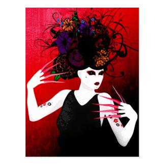 Carte Postale Art surréaliste de ressort sauvage
