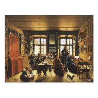 Carte Postale Art victorien, concert de famille de Bâle par