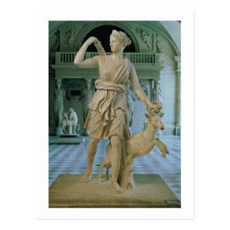 Carte Postale Artemis la chasseuse, connue sous le nom de 'Diana