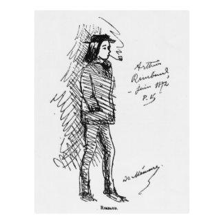 Carte Postale Arthur Rimbaud en juin 1872
