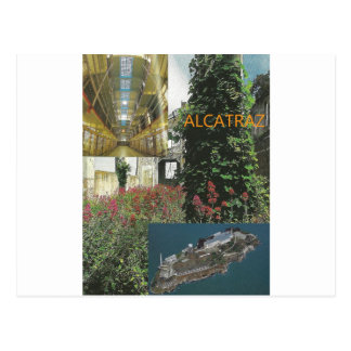 Carte Postale Article de visite d'Alcatraz