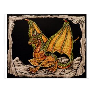 Carte Postale Articles de dragon de bébé