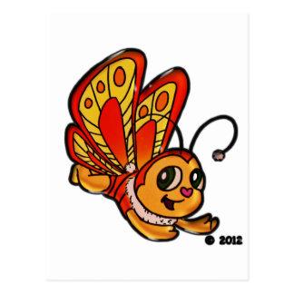 Carte Postale Articles promotionnels de Chloe de papillon