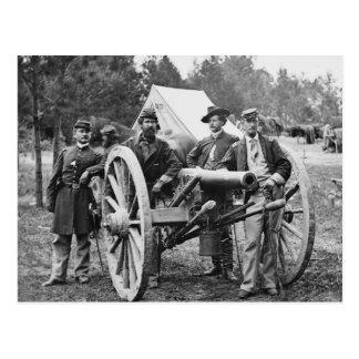 Carte Postale Artillerie de guerre civile, 1860s