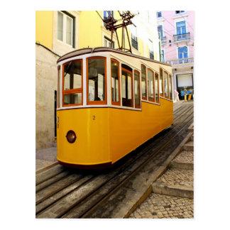 Carte Postale Ascenseur du Tuyau, Lisbonne, Portugal