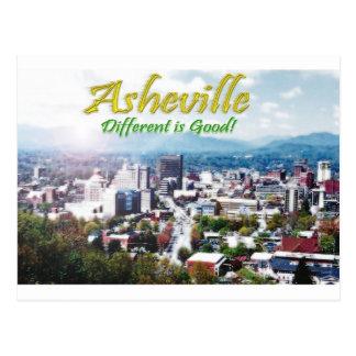 Carte Postale Asheville… différent est bon !