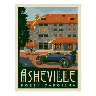 Carte Postale Asheville, la Caroline du Nord