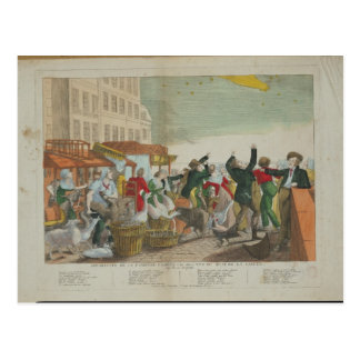 Carte Postale Aspect de la grande comète en 1811