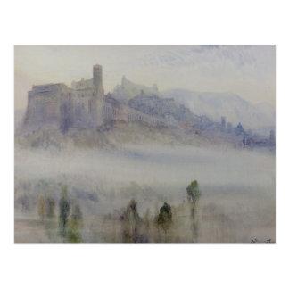 Carte Postale Assisi, début de la matinée