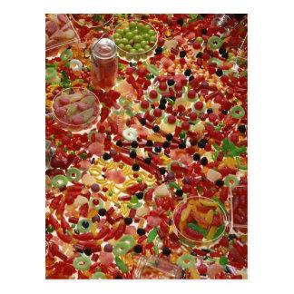 Carte Postale Assortiment des sucreries