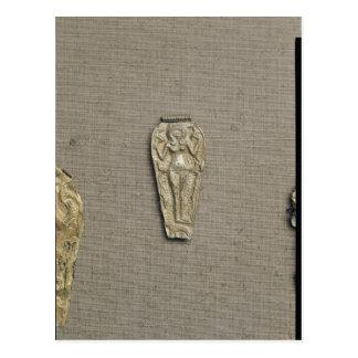 Carte Postale Astarte de representation pendant, déesse de