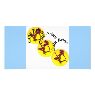 Carte postale astrologique de photo de signe de Bé Photocartes Personnalisées
