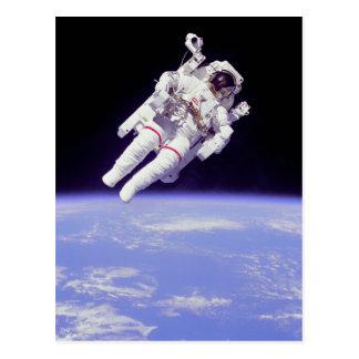 Carte Postale Astronaute