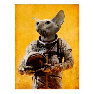 Carte Postale Astronaute fier
