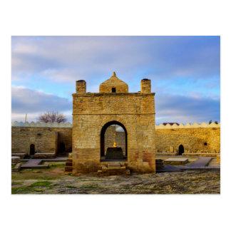 Carte Postale Ateshgah de Bakou