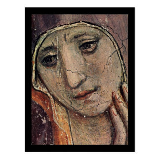 Carte Postale ATF Angelico font face de Mary